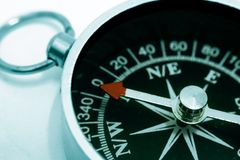 Compass close up Royalty Free Stock Image