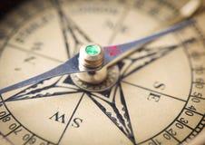 Compass close up Stock Image
