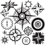 Compass Collection Stock Images