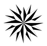 Compass compassrose marine navigation  background eps. Wind rose on  white background vector Royalty Free Stock Photography