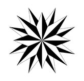 Compass compassrose marine navigation  background eps. Wind rose on  white background vector Stock Photo