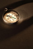 Compass On Dark Stock Photography