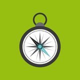 Compass device guide isolated icon Stock Photography