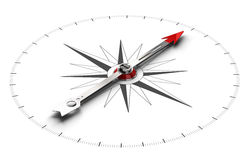 Compass Direction Background Stock Image