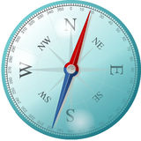 Compass, East, North, South, West Royalty Free Stock Photos
