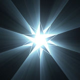 Compass eight point star light flare Stock Images