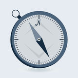 Compass flat icon Royalty Free Stock Photos