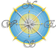 Free Compass For A Map Vector Royalty Free Stock Images - 5774679