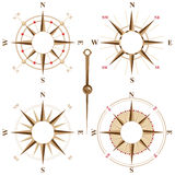 Compass frames Royalty Free Stock Image