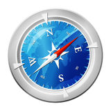 Compass glossy Stock Photos
