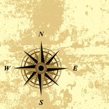 Compass grunge background Stock Images