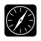 Compass guide application icon Stock Image