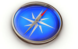 Compass. High resolution 3D rendering of an compass Stock Photo