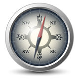 Compass icon. Version included in additional format Royalty Free Stock Images
