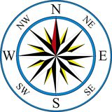 Compass icon Royalty Free Stock Photo