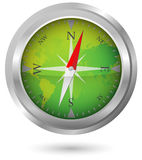 Compass Icon Stock Photo