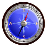 Compass icon. A Compass to find any direction Royalty Free Stock Photos