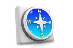 Compass icon Stock Image