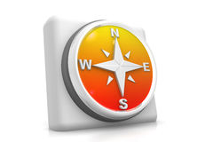 Compass icon Stock Photography
