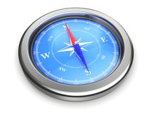 Compass icon Royalty Free Stock Images