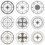 Compass. Icon. Flat design, vector illustration, vector vector illustration