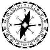 Compass icon Stock Images