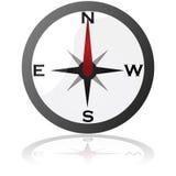 Compass icon Royalty Free Stock Photos