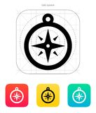 Compass icon. Navigation sign. Vector illustration stock illustration