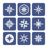 Compass Icons Set Stock Image