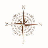 Compass illusration Stock Photography