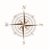 Compass illusration Stock Photography