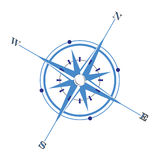 Compass. An illustration of a simple compass Stock Photo