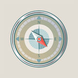 Compass instrument isolated Royalty Free Stock Photo