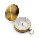 Compass With Integrity Royalty Free Stock Photos