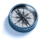 Compass Isolated. A compass on a white background Royalty Free Stock Photos