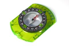 Compass isolated with clipping path Royalty Free Stock Photos