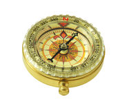 Compass on isolated white Stock Photo