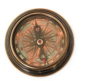 Compass  isolated  on  white background Royalty Free Stock Images