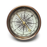 Compass. Isolated on white background Royalty Free Stock Image