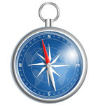 Compass llustration isolated on white Stock Images