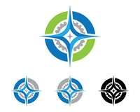 Compass Logo Template Stock Photos