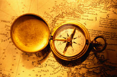 Compass Map 2 Royalty Free Stock Photography