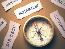 Compass Motivation Royalty Free Stock Image