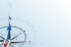 Compass north background Royalty Free Stock Photos