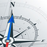 Compass north Stock Image