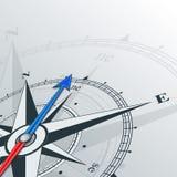 Compass northeast Stock Photo