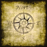compass paper background Royalty Free Stock Image