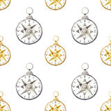Compass pattern Royalty Free Stock Image