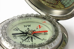 Compass Pointing North Royalty Free Stock Photo