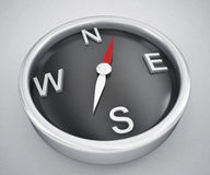 Compass pointing to North Stock Photography